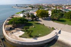 Modern Lissabon stock foto's
