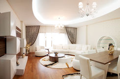 Modern Live room. This living room is designed from Turkey Royalty Free Stock Image