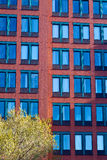 Modern living. Facade of a modern office building in New Haven, Connecticut Stock Image