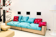 Modern living area Royalty Free Stock Photos