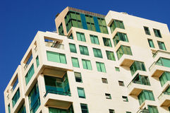 Modern living building. Stock Photos