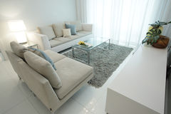 Modern living room. Interior image of a modern living room Stock Images