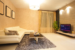 Modern Living room. Living room, the style of Modern. zhuhai china Stock Photos