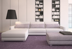 Modern living-room. Stock Photo