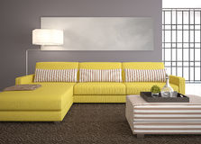 Modern living-room Royalty Free Stock Image