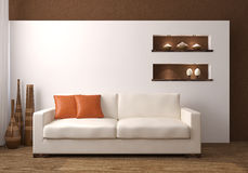 Modern living-room. royalty free stock images