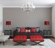 Modern living-room. vector illustration