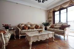 Modern living room Stock Image