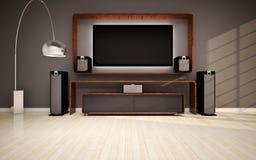 Free Modern Living Room Royalty Free Stock Photo - 28510335