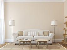 Modern Living-room Stock Photos