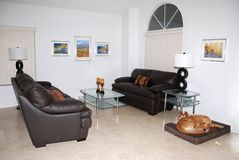 Modern living room. Royalty Free Stock Photo
