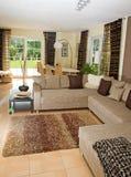 Modern Living Room. Royalty Free Stock Photos