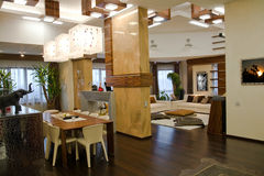 Modern living room. Modern luxury living waiting room Stock Photo