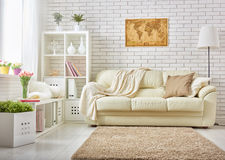 Modern Living Room Stock Image