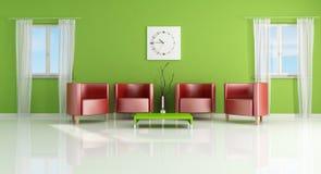 Modern living- room Stock Photo