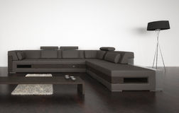 Modern Living Room | Architecture Interior. A 3d rendering of modern living room interior Stock Photography