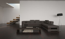 Modern Living Room | Architecture Interior royalty free stock images