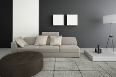 Modern Living Room | Architecture Interior Royalty Free Stock Photos