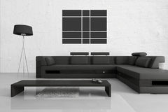 Modern Living Room | Architecture Interior Royalty Free Stock Image