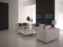 Modern Living Room | Architeture Interior Stock Images