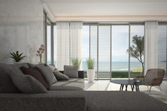 Modern Living Room | Architeture Interior Stock Image