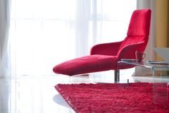 Modern living room chair Royalty Free Stock Photography