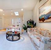 Modern living room design Royalty Free Stock Photos
