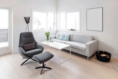 Modern living room design Stock Photo