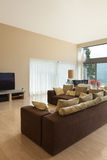 Modern living room, divan Stock Photo