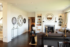 Modern living room. stock photo