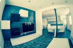 Modern living room royalty free stock image