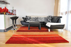 Modern living room. Interior of modern living room Royalty Free Stock Photography