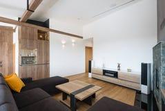 Modern living room interior Stock Image