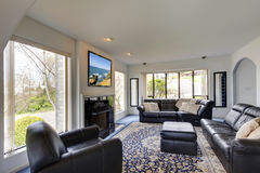 Modern living room interior Royalty Free Stock Image
