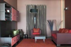 Modern living room interior design. stock photography