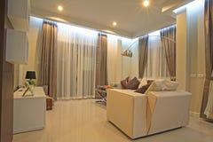 Modern living room interior. Design Royalty Free Stock Images