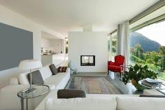 Modern living room Stock Photos