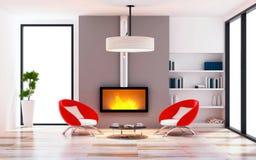 Modern of living room interior modern style Stock Photos