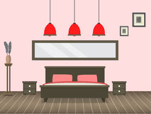 Modern living room interior. Vector for your ideas Royalty Free Stock Image