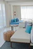 Modern Living Room. In Luxury Home Stock Image
