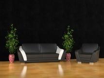 Modern living room set Stock Photos