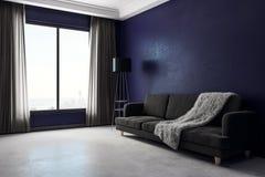 Modern living room side Royalty Free Stock Image