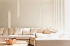 Modern living room. Royalty Free Stock Images