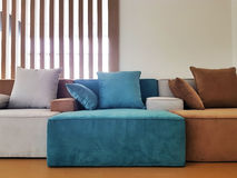 Modern living room with sofa and furniture Royalty Free Stock Photos