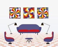Modern living room Stock Photography