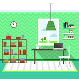 Modern living room. Vector for your ideas Stock Images