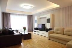 Modern Livingroom Royalty Free Stock Photos