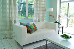 Modern livingroom Royaltyfri Bild