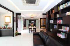 Modern Livingroom Royaltyfri Fotografi