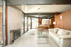Modern Livingroom Royalty Free Stock Images